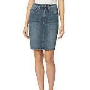 B2G1 Lauren Ralph Lauren Denim Pencil Skirt
